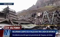 VIDEO: las primeras imágenes del accidente de avión en Yauyos - Noticias de reserva paisajística nor yauyos cochas