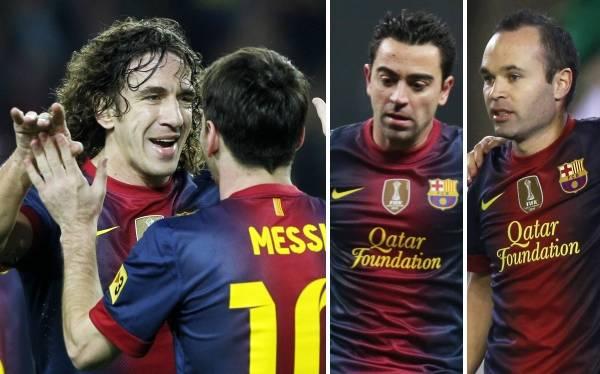Cruyff recomienda que veteranos del Barcelona tomen el mando del equipo