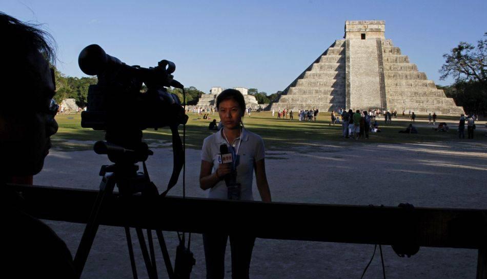 FOTOS: el mundo se prepara para despedir el fin de la era Maya