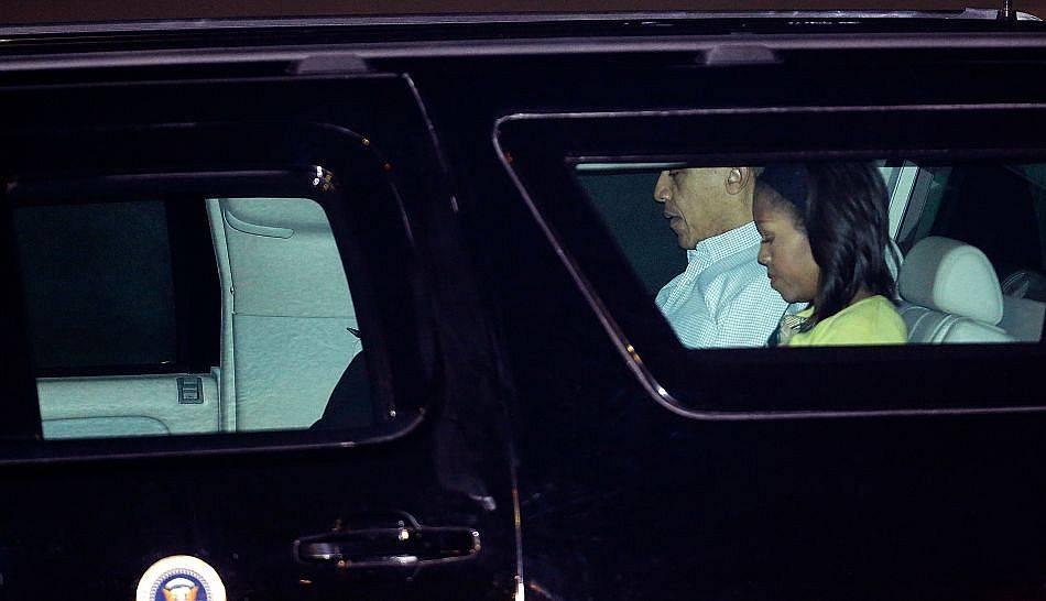 FOTOS: Barack Obama inició sus breves vacaciones en Hawái