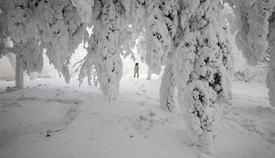 Fotos rusia soporta invierno m s crudo en 70 a os con for Imagenes de patios de invierno