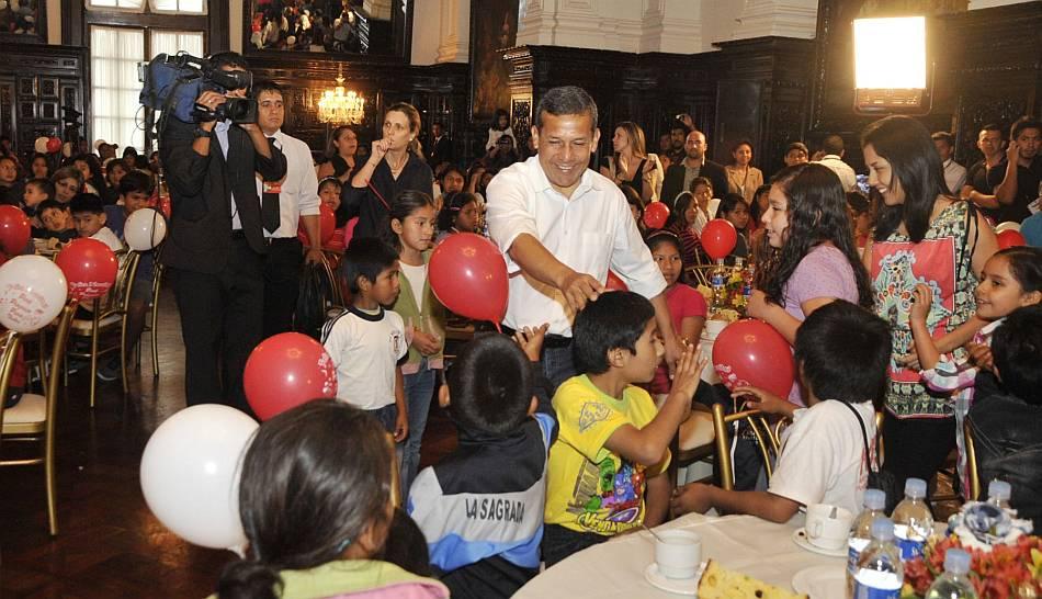 FOTOS: el inicio de las festividades de Navidad en Palacio de Gobierno