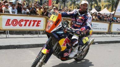 Peruanos en el Dakar utilizarán la misma moto del tetracampeón