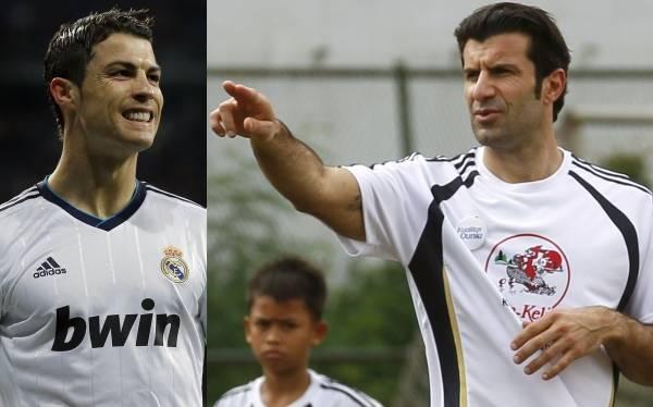 """Figo: """"Ronaldo tiene todas las condiciones para ganar el Balón de oro"""""""