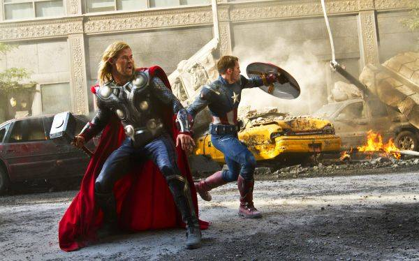 """""""Los vengadores"""" fue la película más exitosa en la taquilla mundial del 2012"""