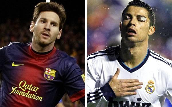 """Messi y Cristiano Ronaldo, la delantera del once ideal de """"L'Équipe"""""""