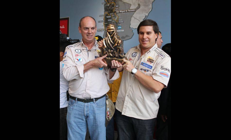 FOTOS: Estos son los pilotos y copilotos que ganaron Caminos del Inca y que correrán el Dakar