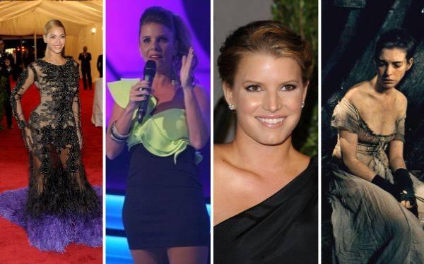 Las dietas de los famosos que dieron que hablar en el 2012