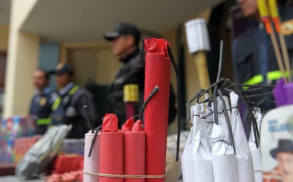 Venta ilegal de pirotécnicos será sancionada hasta con ocho años de prisión