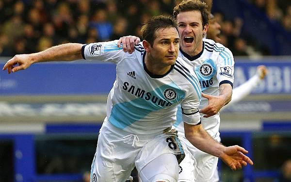 Chelsea ganó 2-1 al Everton con doblete de Frank Lampard