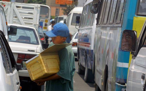 Chiclayo: policía recogió a 3.329 niños de la calle en lo que va del año
