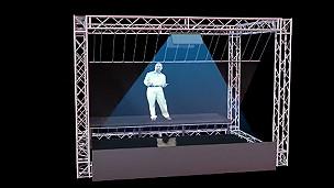 VIDEO: hologramas que resucitan a los muertos. ¿Cómo funcionan?