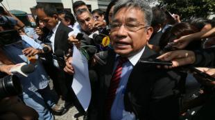Facundo Chinguel abandonó carceleta del Poder Judicial y fue llevado a penal