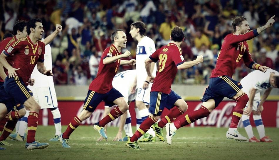 Copa Confederaciones: España eliminó a Italia y jugará la final ante Brasil