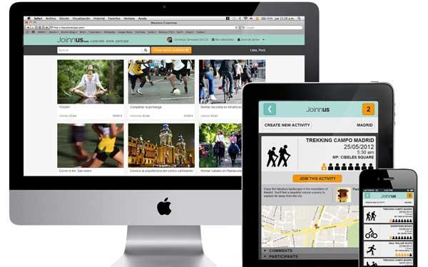 Joinnus, una plataforma peruana que conecta personas para realizar actividades grupales