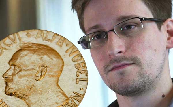Edward Snowden fue propuesto al Premio Nobel de la Paz