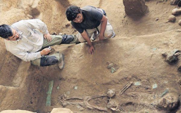 La Libertad: develan tumba de sacerdotisa Moche