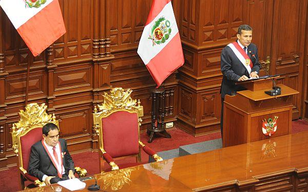 Mensaje a la Nación 2013: Los puntos básicos que dijo hoy Ollanta Humala