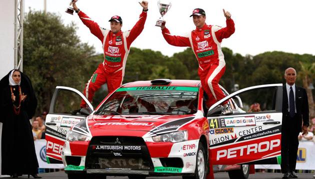 ¡Nicolás Fuchs se coronó Campeón Mundial de Rally!