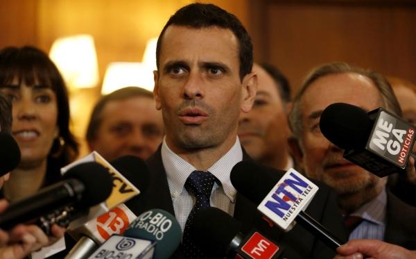 Venezuela: Capriles irá a la ONU y CIDH para denunciar elección irregular