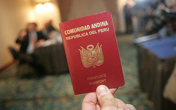 El 23 de setiembre se hará el pedido para no exigir visa a peruanos en la UE