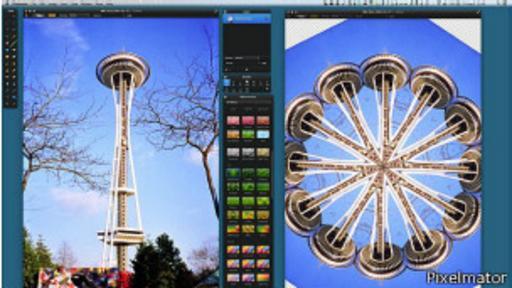 Pixelmator es una de las empresas que ha visto un repunte en las descargas desde el anuncio de Adobe. BBC
