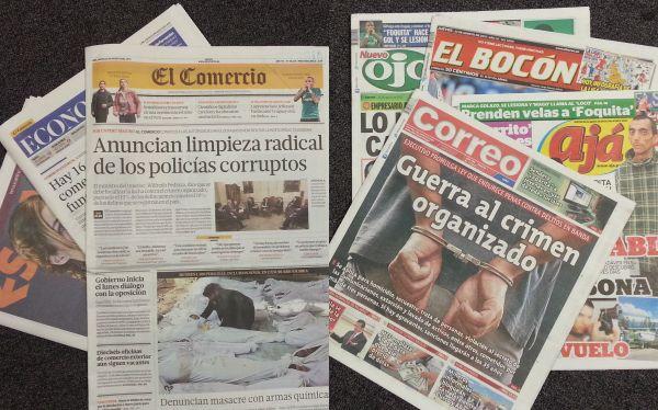 Grupos El Comercio y Agois se asocian por control accionario de Epensa