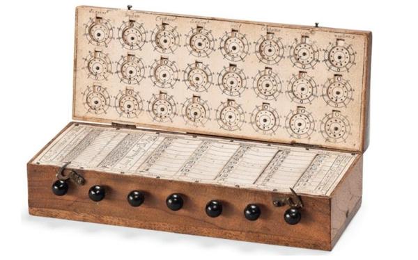 ¿Cómo era la 'abuela' de todas las calculadoras?