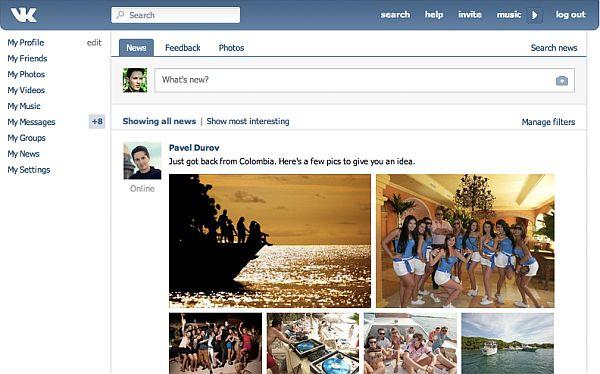 VK, la red social rusa que quiere superar a Facebook en el Perú