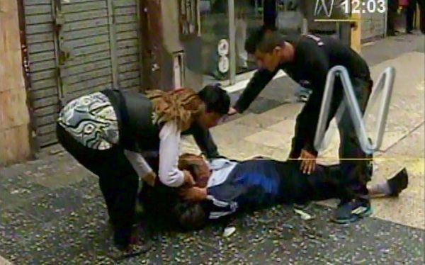 Algunos manifestantes aseguraron haber sido fuertemente agredidos por la policía. (Captura de pantalla: Canal N)