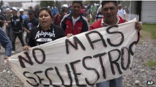 En 2012 se cometieron en México más de 105.000 secuestros, según datos oficiales