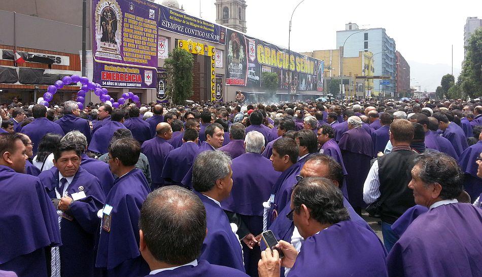 Procesión del Señor de los Milagros: este es el plan de desvíos para hoy