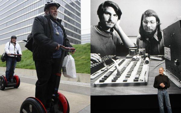 Steve Wozniak, el cofundador de Apple, se encuentra en Perú