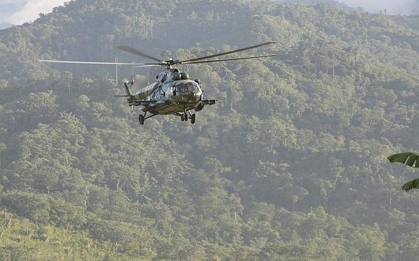 Junín: un poblador murió durante intervención militar aérea