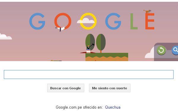Nuevo doodle de Google homenajea a André Jacques Garnerin, el primer paracaidista