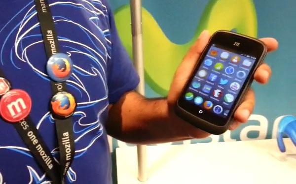 El primer teléfono con Firefox OS se lanzó en el Perú
