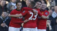 Manchester United toma un respiro en la Premier al vencer 3-1 al Fulham [VIDEO] - Noticias de wayne rooney