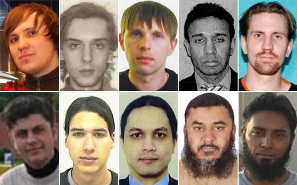 Estos son los diez cibercriminales más buscados por el FBI
