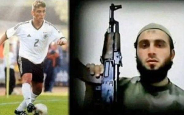 Jugó por Alemania, se convirtió al islam y murió como rebelde en Siria