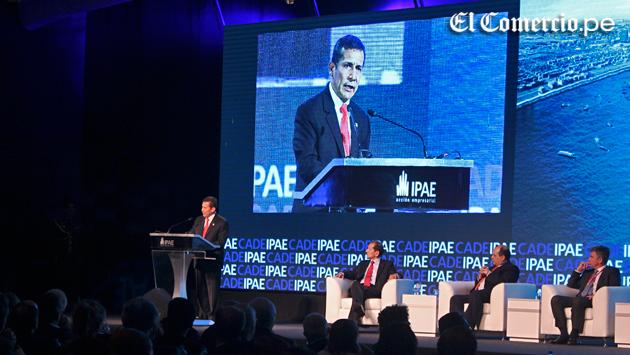 Ollanta Humala a empresarios: