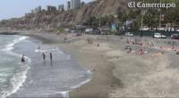 Limeños ya veranean en playas de la Costa Verde [VIDEO]