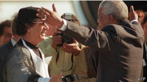 Gadafi y Mandela constituyeron una de las amistades más fuertes en África.