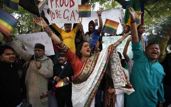 India: ser homosexual vuelve a ser un delito