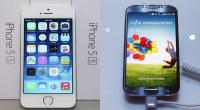 iPhone 5S, Samsung Galaxy S4, Galaxy S4