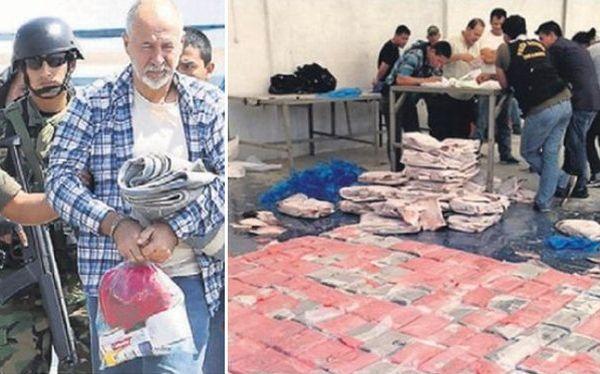 Mexicano Guillermo Beltrán Félix llegó al Perú para embarcar 3,8 toneladas de cocaína desde Paita. La incautación de esa cantidad de droga es la mayor del 2013. (Fotos: PNP)