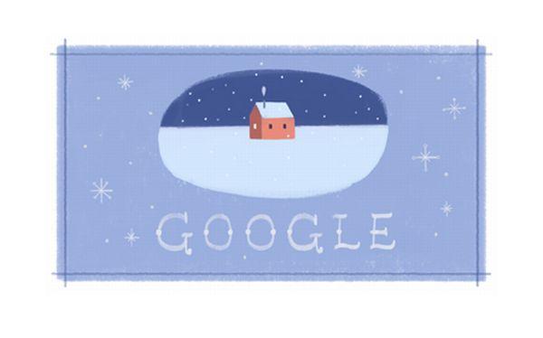 Felices Fiestas: El tercer doodle con el que Google celebra Navidad