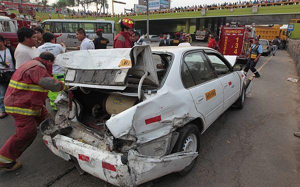 Más de 2.400 personas murieron en accidentes de tránsito este año