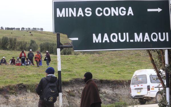 ¿El Proyecto minero Conga se iniciará en el 2014?