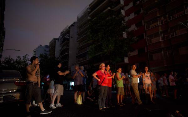 Buenos Aires fue declarada en emergencia por cortes de luz y ola de calor