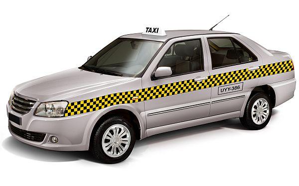 Taxis deberán usar estas franjas a cuadros para seguir circulando por Lima